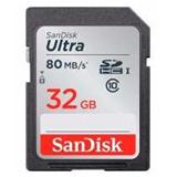 Sandisk SDHC 32GB Ultra 80MB/s Class 10 UHS-I memorijska kartica Cene