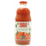 Zdravo paradajz sok organic 1L flaša Slike
