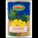 Iska ananas kocka kompot 560g limenka