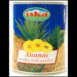 Iska ananas kolutići kompot 820 g limenka Slike