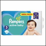 Pampers active baby pelene 3 152 komada  Cene