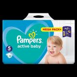Pampers active baby pelene 5 110 komada  Cene