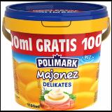 Polimark majonez delikates 1,1L kantica