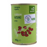 Ecor azuki crveni organski pasulj 400g limenka Slike