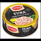 Compass tuna komadići u ulju 150g limenka