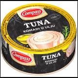 Compass tuna komadi u ulju 160g limenka