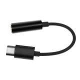 Gembird CCA-UC3.5F-01 USB type-C plug to stereo 3.5mm audio adapter cable kabal Cene