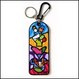 Romero Britto privezak Peace & Love Mickey Mouse Keychain Slike