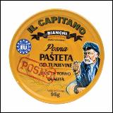 IL Capitano posna pašteta od tunjevine 95g limenka Slike