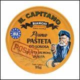 IL Capitano posna pašteta od lososa 95g limenka Slike