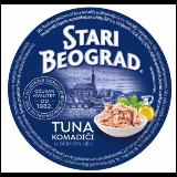 Stari Beograd tuna komadići 150g limenka Slike