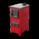 Milan Blagojevic MBS SD-1 HERA drvo/ugalj 7 kW crvena gore (centralno) peć na čvrsto gorivo