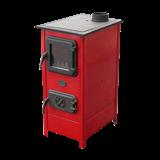 Milan Blagojevic MBS SD-1 HERA drvo/ugalj 7 kW crvena gore (centralno) peć na čvrsto gorivo Slike