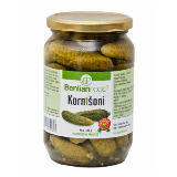 Benlian Food kornišoni 680g tegla