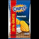 Marbo chipsy domaćinski čips sa ukusom sira 192g kesa Slike