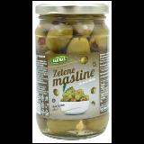 BAŠ BAŠ zelene masline sa paprikom 370g tegla
