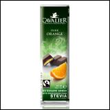 Cavalier čokoladni bar sa steviom - orange 40g Slike