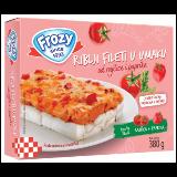 Frozy riblji fileti u sosu od paradajza 380g Slike