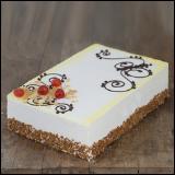 Torta Ivanjica Posna voćna - ananas i višnje - velika torta