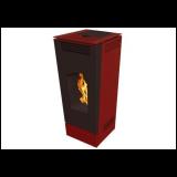 Alfa Plam CSA Frma Classic - crvena peć na pelet Slike