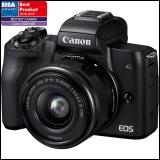 Canon EOS M50 + EF-M 15-45 IS STM digitalni fotoaparat Slike
