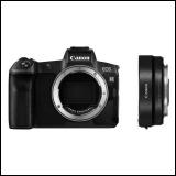 Canon EOS R MILC fotoaparat crni+adapter EF-EOS-RF Slike