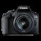 Canon EOS 2000D (Crna) + 18-55mm IS II digitalni fotoaparat