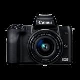 Canon EOS M50 (Crna) + EF-M 15-45mm digitalni fotoaparat Slike