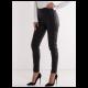 Legendww ženske crne pantalone od veštačke kože 2428-9064-06