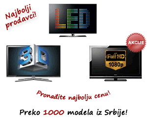 Cene LCD televizora