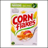 Corn flakes cene