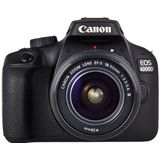 Canon EOS 4000D 18-55 DC III, Black digitalni fotoaparat Slike