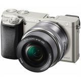 Sony Alpha 6100 ILCE6100LS.CEC APS-C fotoaparat srebrni+objektiv 16-50 mm f/3.5-5.6 Slike