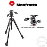 Manfrotto Set MK190XPRO3-3Way tripod Cene