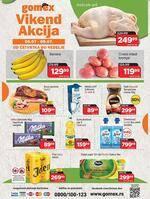 Gomex katalog vikend akcija Katalog Akcija