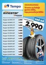 Tempo katalog top ponuda letnjih guma Katalog Akcija