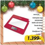 Sencor SKS5024RD kuhinjska vaga Cene