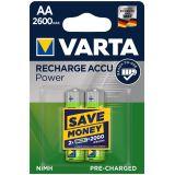Varta punjive baterije AA HR6 2600 mAh - 2/1  Cene