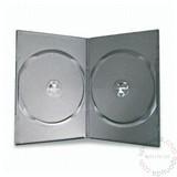 Mediarange 955DS/Z KUTIJE DVD SLIM DUPLA CRNA 7MM Slike