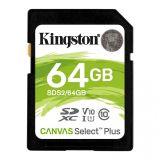 Kingston Canvas Select Plus (SDS2/64GB) memorijska kartica SDXC 64GB class 10  Cene
