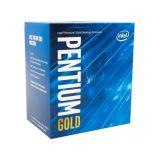 Intel Pentium Gold G6400, 2C/4T, 4.00GHz, 4MB, 58W, ® HD Graphics 610, LGA 1200, BOX procesor Slike