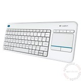 Logitech K400 Plus White tastatura Cene