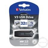 Verbatim 32GB USB3.0 BLACK 49173 usb memorija Cene