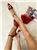 Hop Hop ženske lak sandale sa brošom - crvene 10614  cene