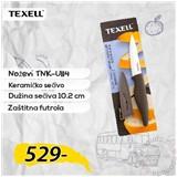 Texell Nož keramički sa zaštitnom futrolom TNK-U114  Cene