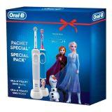 Oral-b Power D100 Vitality Frozen električna četkica za zube 500393 Slike